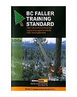"""B.C. Faller Training Standard"" (set of 3 DVDs)"