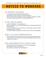 Notice to Workers