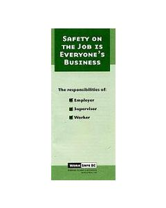 Safety on the Job is Everyone's Business