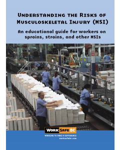 Understanding the Risks of Musculoskeletal Injury (MSI)