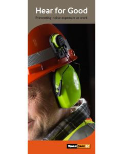 Hear for Good: Preventing noise exposure at work - Sold by bundles of 50