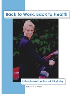 Back to Work, Back to Health - Return to work for the retail industry