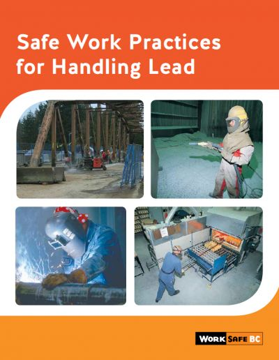 Safe Work Practices for Handling Lead